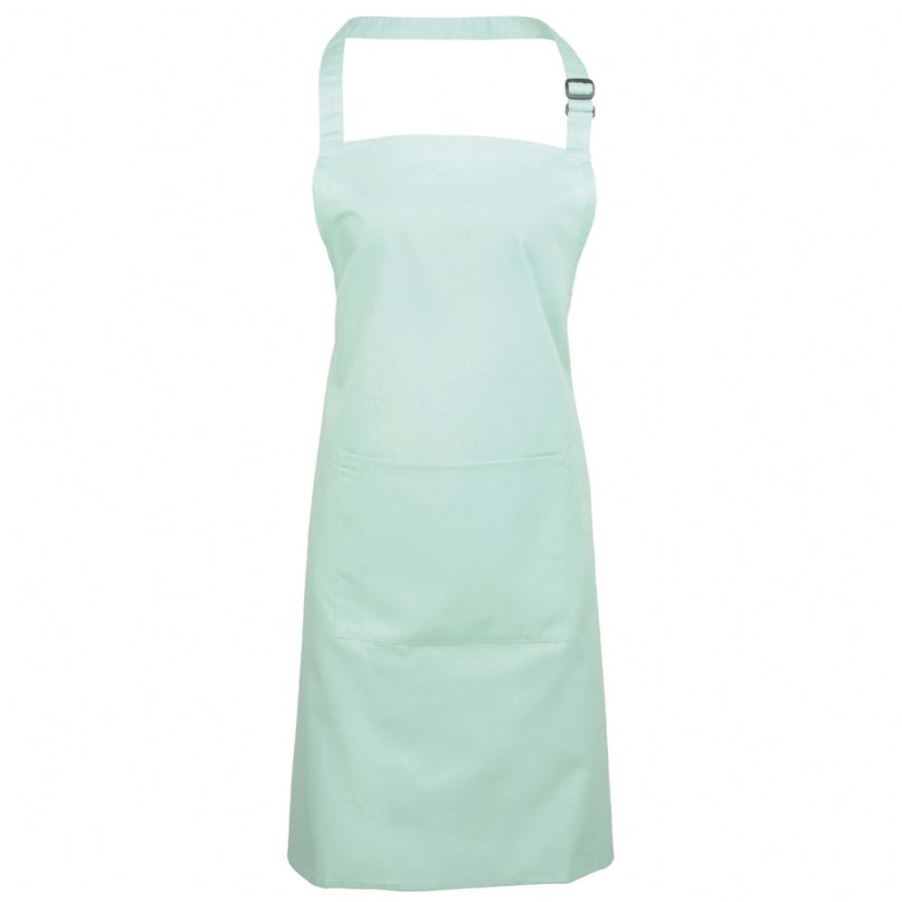 Bib Apron With Pocket - PR154